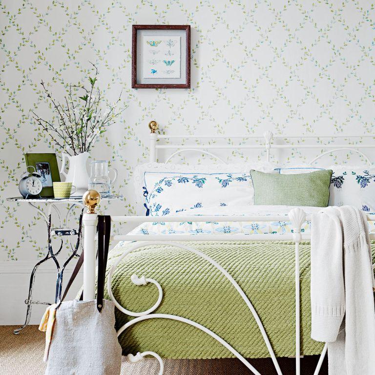 Light Green Wallpaper For Bedroom Novocom Top