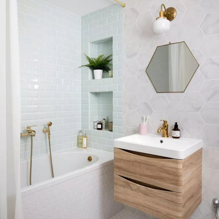 Small bathroom ideas - 39 design tips for tiny spaces ...