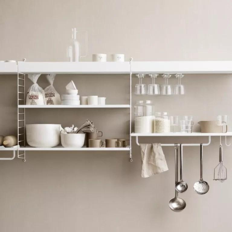 String kitchen storage