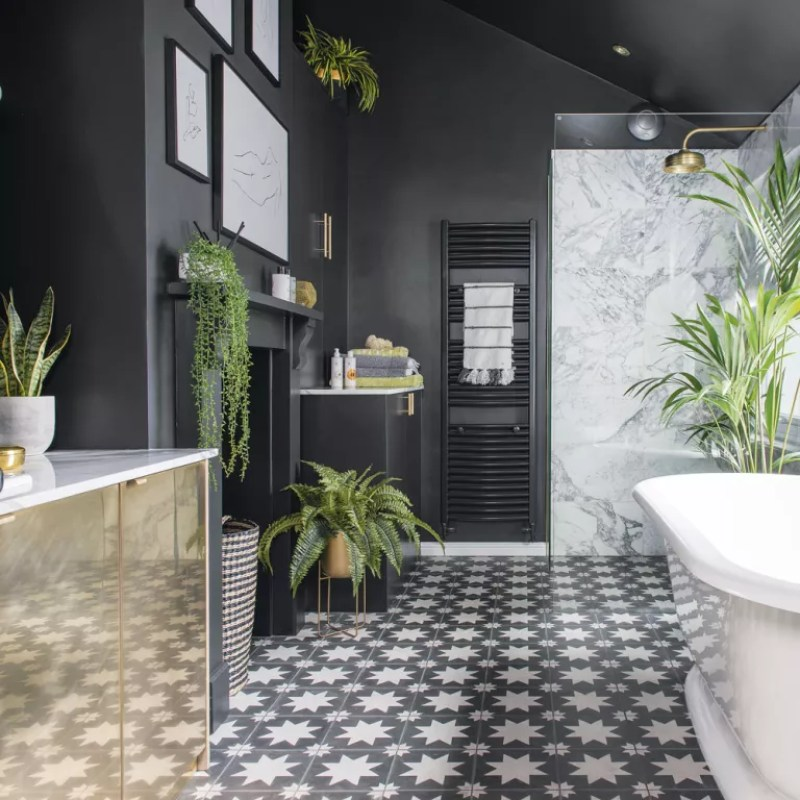 Bathroom plant ideas