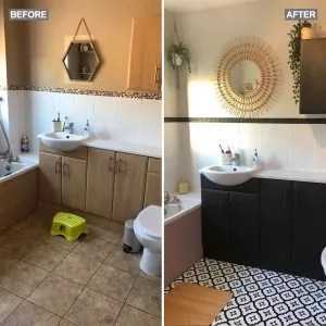 See This Stunning Frenchic Bathroom Makeover It S Unrecognisable