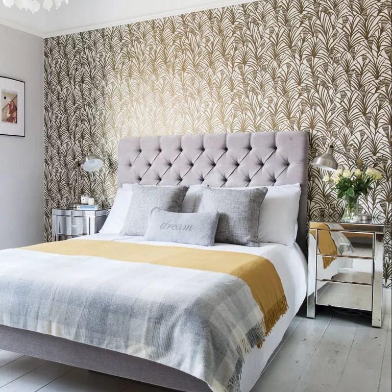 Bedroom Wallpaper Ideas Bedroom Wallpaper Designs Ideal Home
