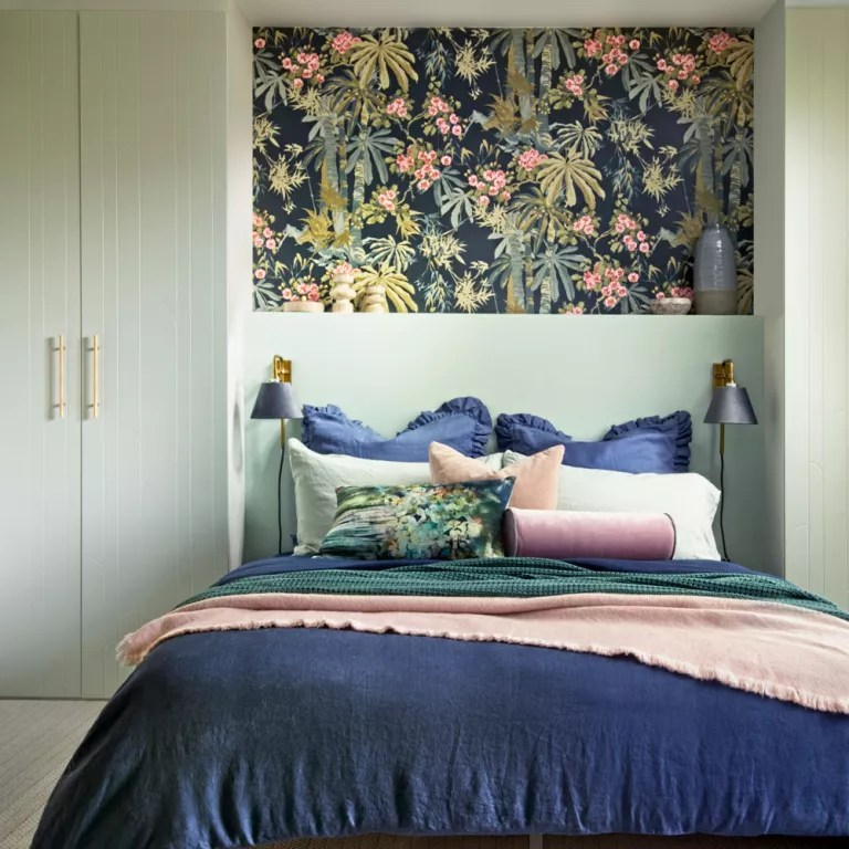 Bedroom Feature Wall Ideas Accent Wall Ideas That Will Work For Every Decor Style Using Wallpaper Paint And Cladding