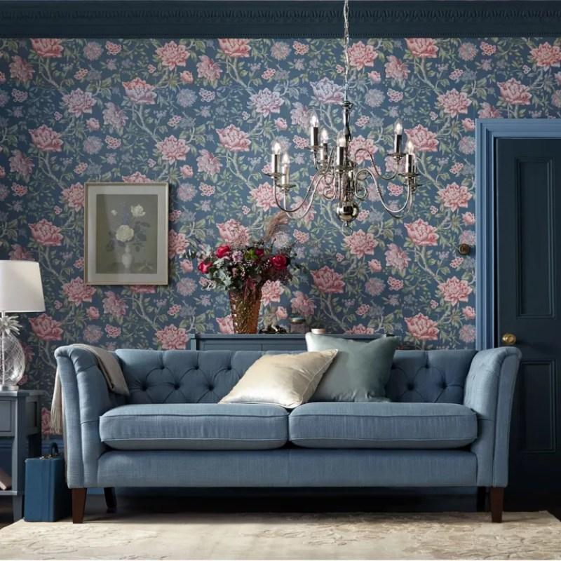 Blue-living-room