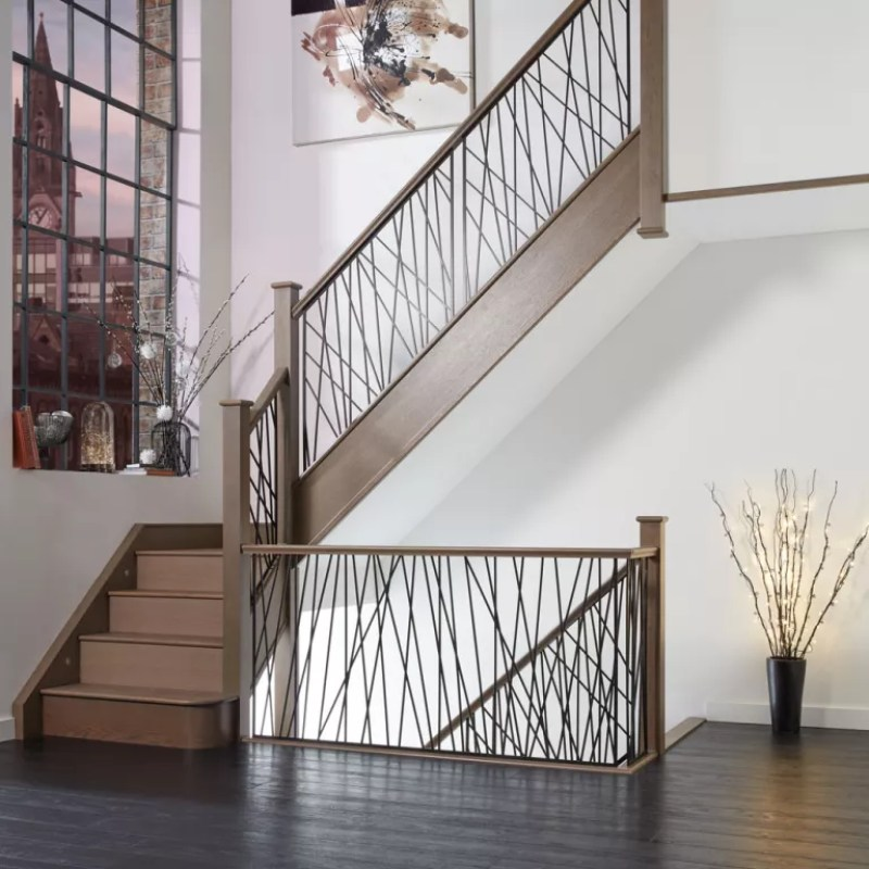 wire staircase