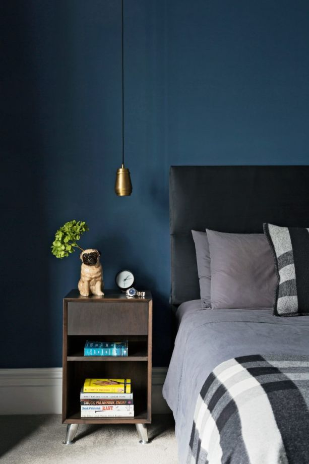 Dark Bedroom Ideas Moody Dark And Stormy Hues For Modern Bedrooms