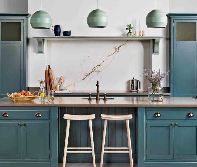 The Designers Have Created Arbor A Kitchen That Does Country Chic With A Contemporary Twist Think Hand Painted Streamlined Cabinetry Complete With