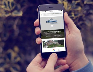 Summit Environmental Construction Mobile Responsive Website | KSAVAGER Design & Photography