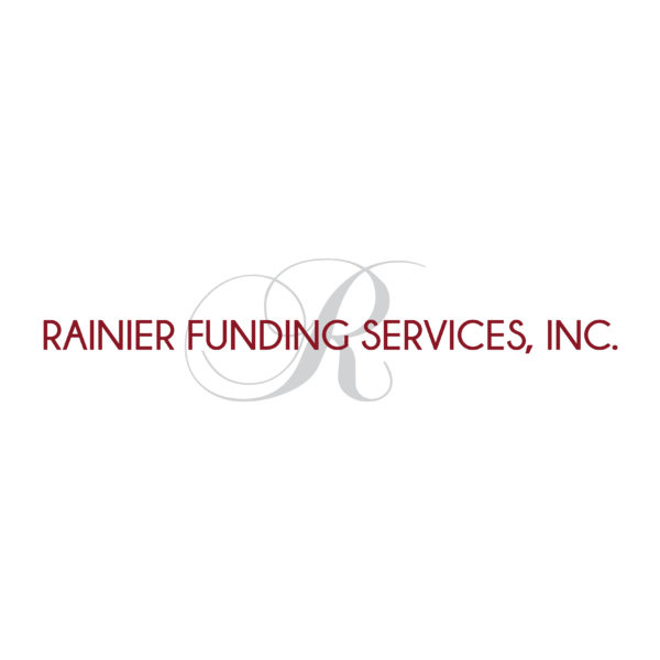 Rainier Funding Services Logo Design | KSAVAGER Design & Photography | Syracuse, NY