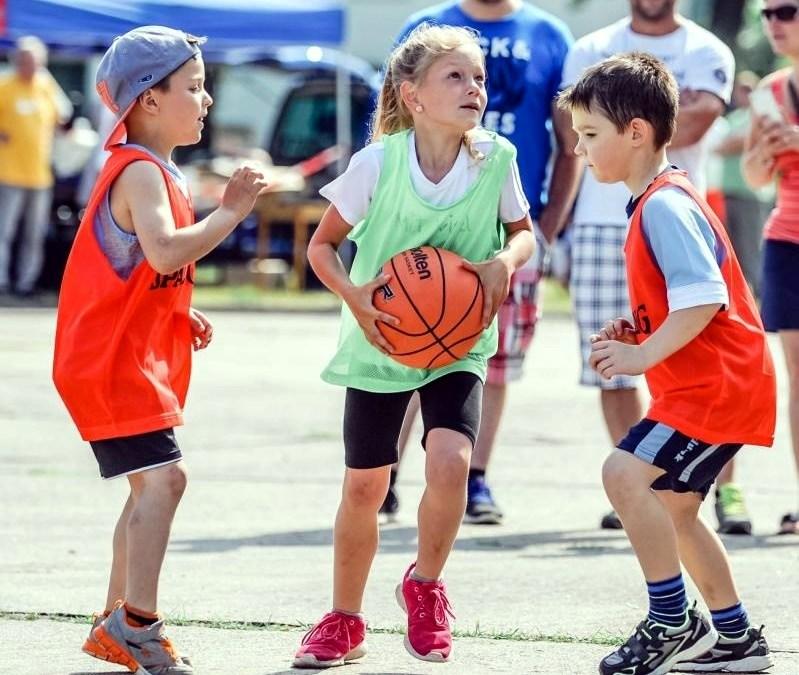 Streetball Kinder- und Jugendspiele
