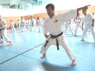 Lehrgang Karate mit Marcus Gutzmer in Salzwedel