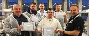 Rozdanie certyfikatów