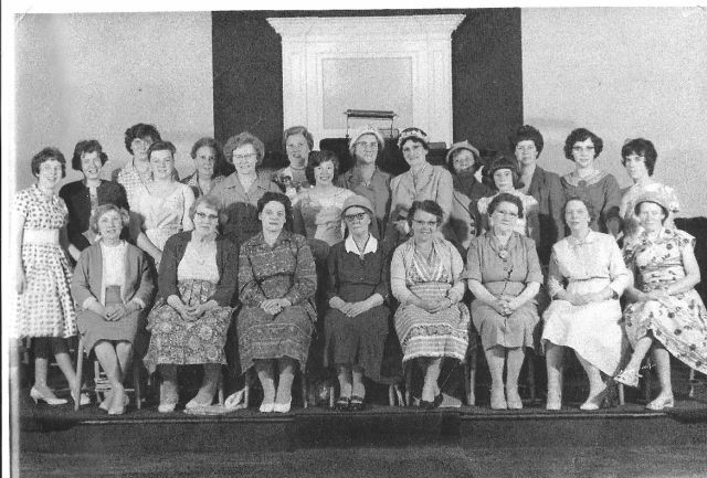 KSBC Ladies Choir c 1962