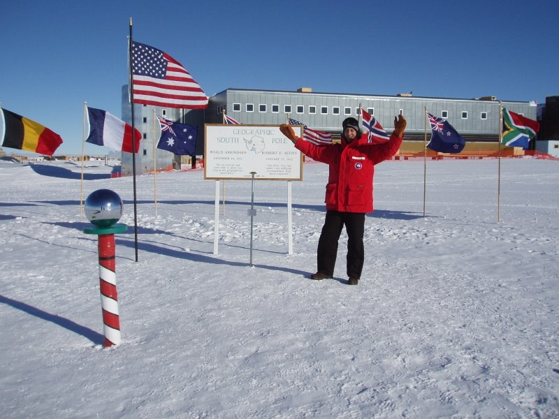 Me at the South Pole