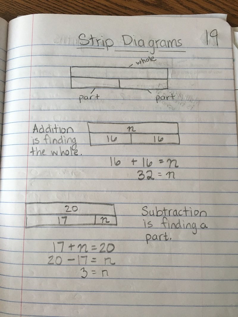 medium resolution of a strip diagram
