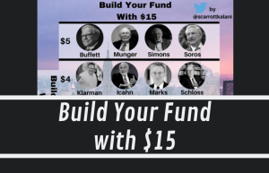 Build Your Fund With $15