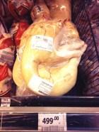 Spanferkel in der Kühltheke, gar nicht mal so teuer