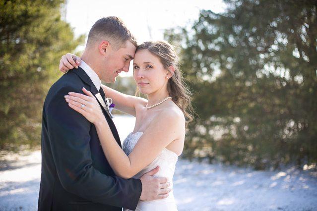 Winter wedding in Tennessee