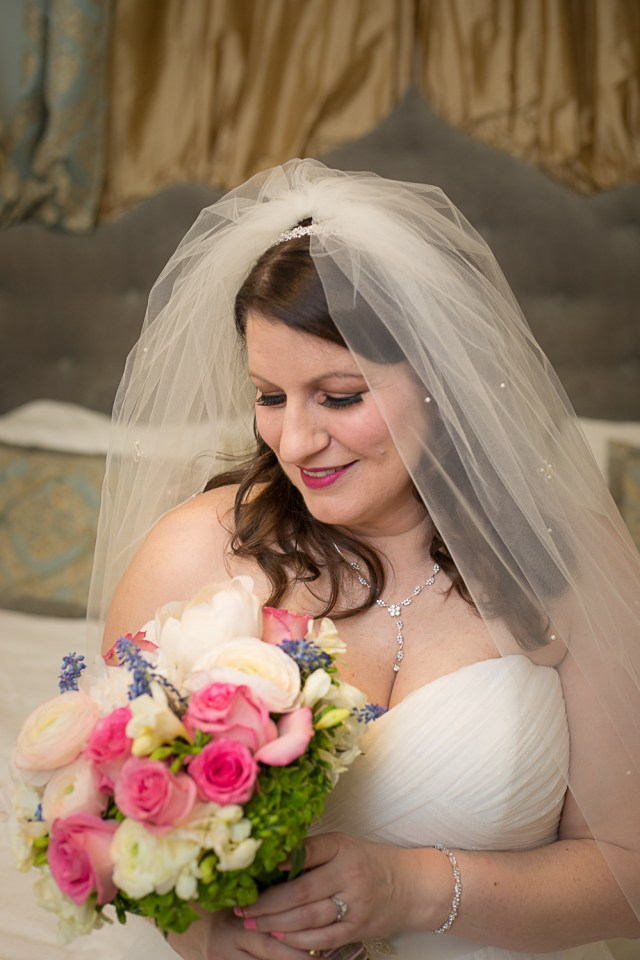 Bridal portrait at Carriage Lane Inn