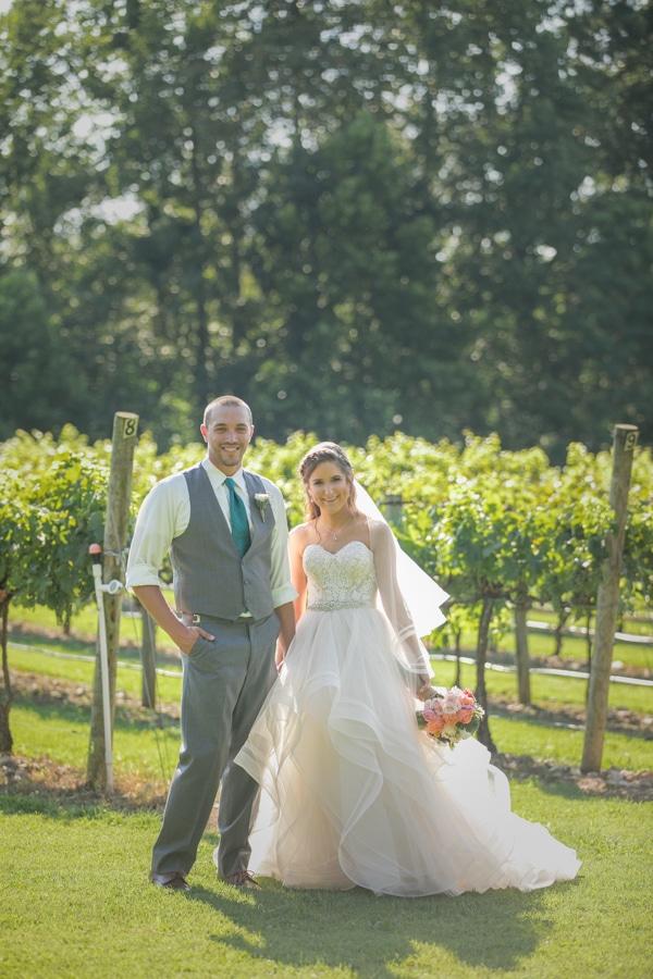 photos in the vineyard