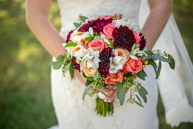 nashville wedding flower bouquet