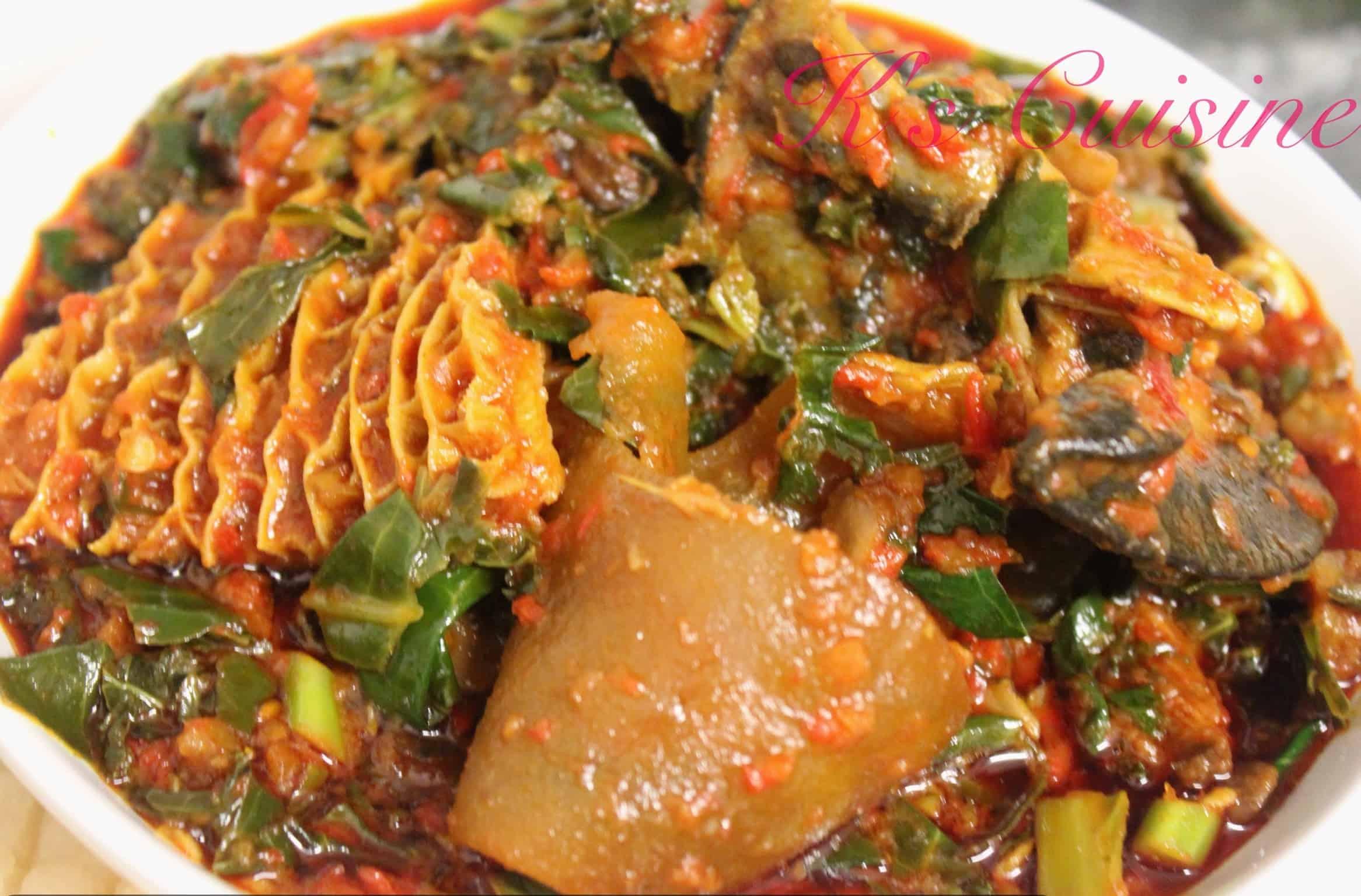 Efo riro k 39 s cuisine - Image cuisine ...