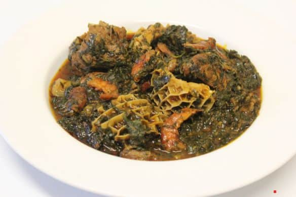 Easy Afang Soup recipe