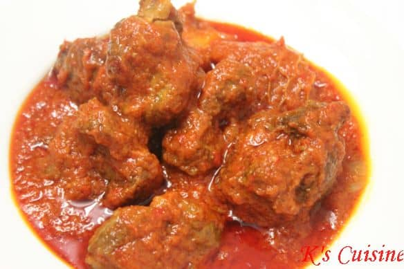 Nigerian Beef Stew K S Cuisine