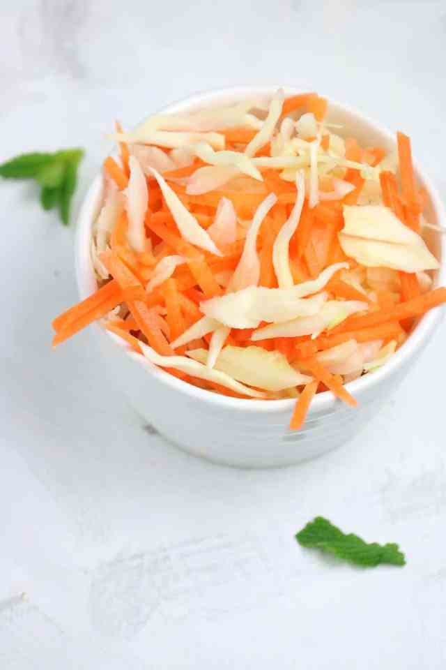 how to make coleslaw (Coleslaw)