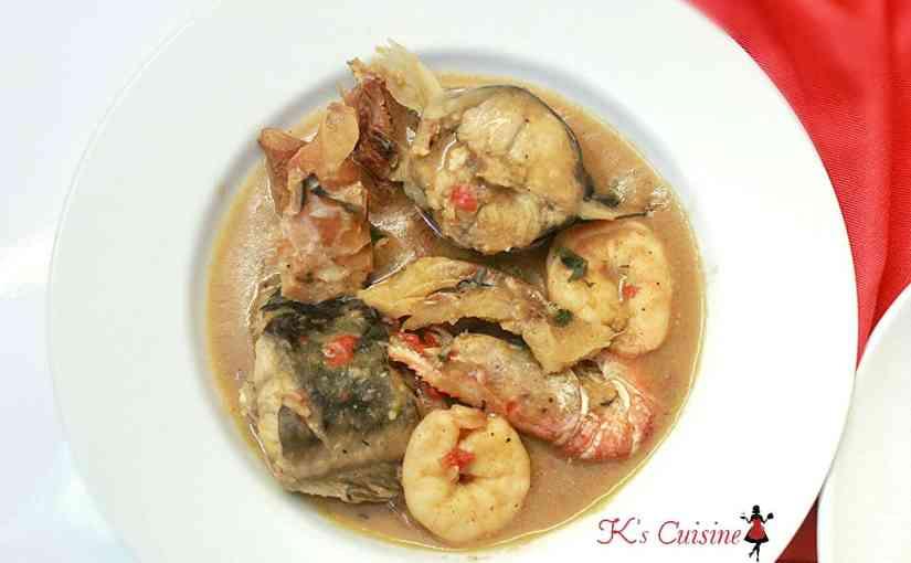 Ofe Nsala (White Soup)