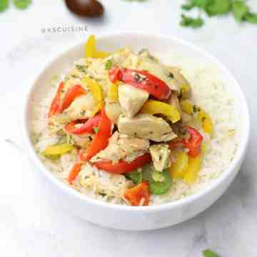Easy Chicken Stir Fry. Simple and quick recipe ready in 10 minutes