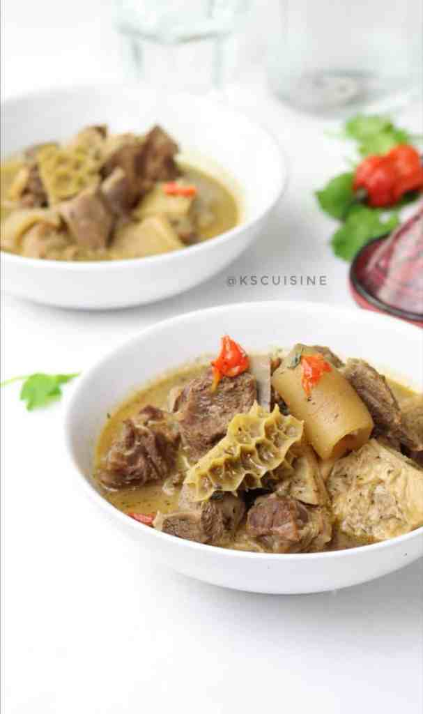 Assorted meat peppersoup (Nigerian pepper soup) Easy recipe