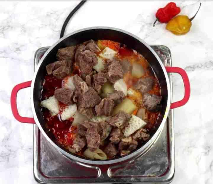 Obe oniru Yoruba stew