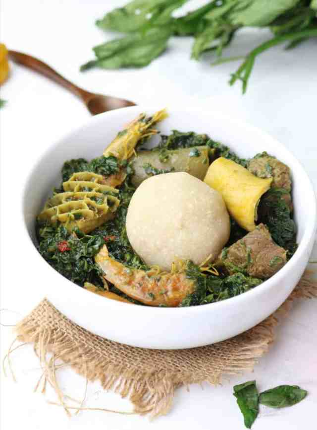 Eba food. How to make garri . lump free eba