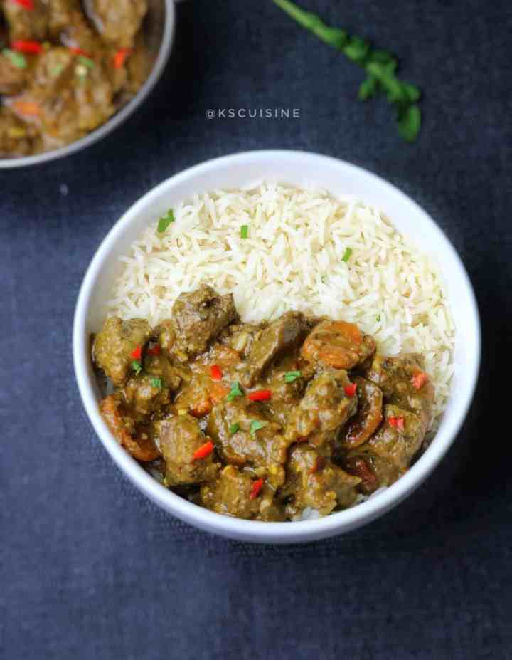 Easy beef curry recipe. how to cook beef curry