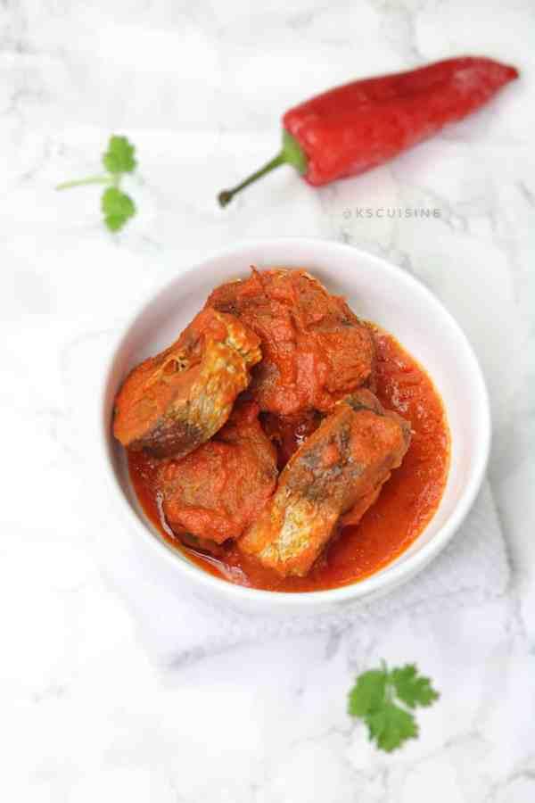 Nigerian fish stew. Nigerian fish recipes