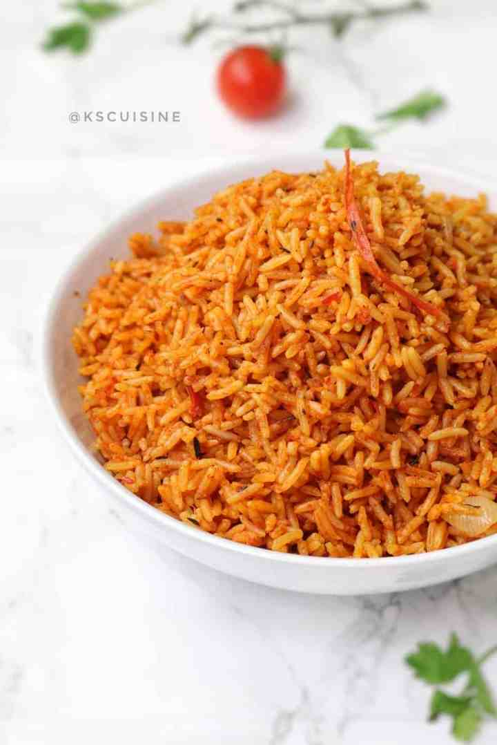 Jollof rice picture