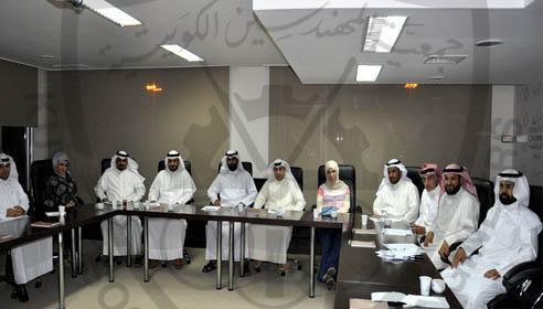 ممثلون عن المجلس والبلدية والبيئة والداخلية والكهرباء والماء التقوا في جمعية المهندسين
