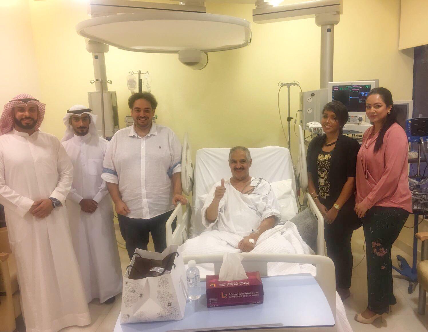 قام وفد من جمعية المهندسين الكويتية بزيارة الاعلامي القدير علي حسن