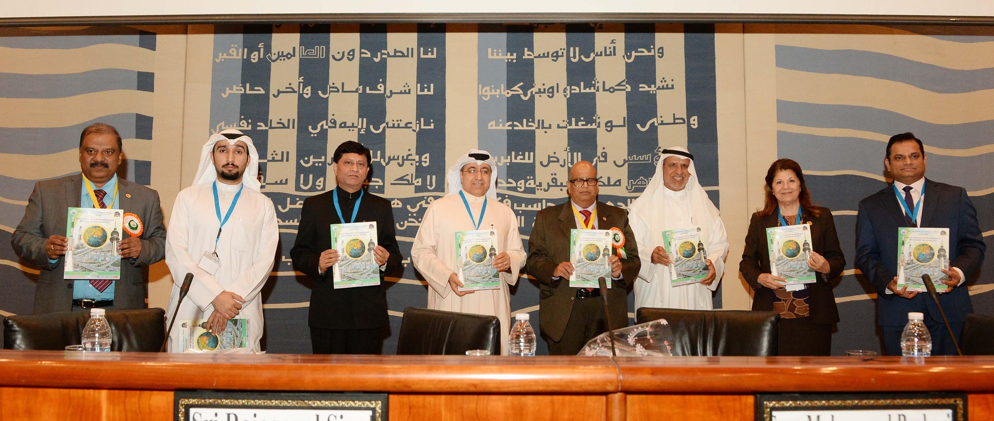 الجمعية رعت الاحتفال السنوي يوم المهندس الهندي في الكويت
