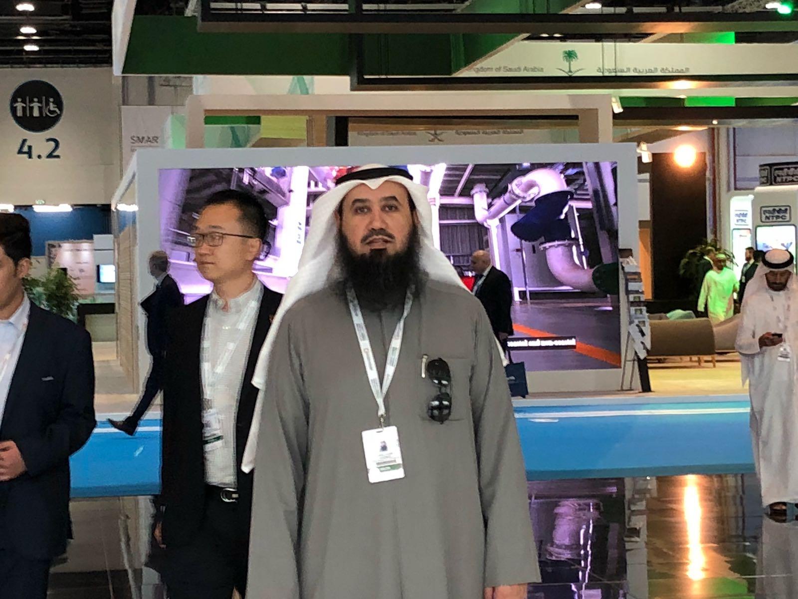 رئيس الجمعية شارك في أعمال مؤتمر القمة العالمية لمستقبل الطاقة في أبو ظبي