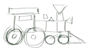 simple drawing basic train shapes shape easy basics object very animation class drawings complex quick sullivan sean ksean
