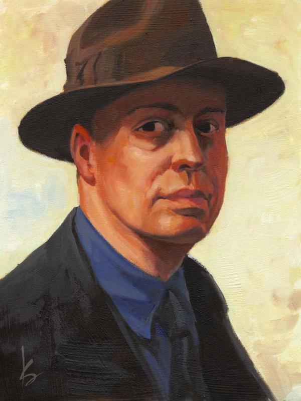 Edward Hopper Self Portrait