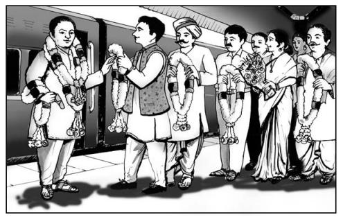 ईमानदारों के सम्मेलन में Summary in Hindi 1