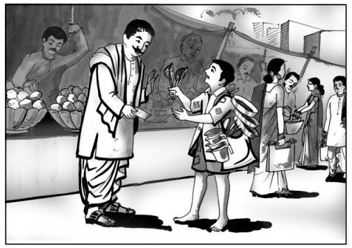 बसंत की सच्चाई Summary in Hindi 1