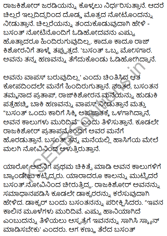 बसंत की सच्चाई Summary in Kannada 2