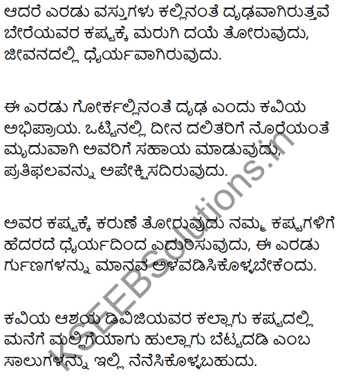 Froth and Bubble Summary in Kannada 2