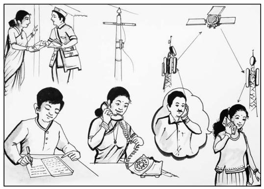 KSEEB Solutions for Class 10 Hindi वल्लरी Chapter 8 इंटरनेट क्रांति 4