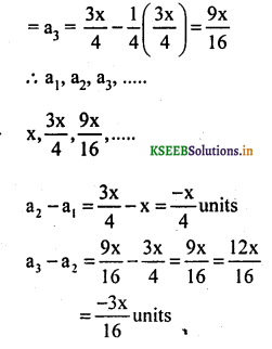 KSEEB Solutions for Class 10 Maths Chapter 1 Arithmetic Progressions Ex 1.1 1