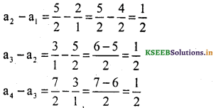 KSEEB Solutions for Class 10 Maths Chapter 1 Arithmetic Progressions Ex 1.1 10